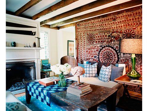 Hippie Living Room Decor Ideas