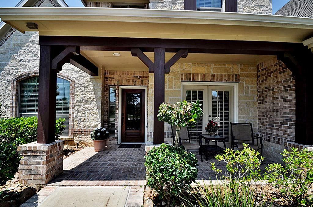 Adding A Covered Side Porch To A Brick House Google Search