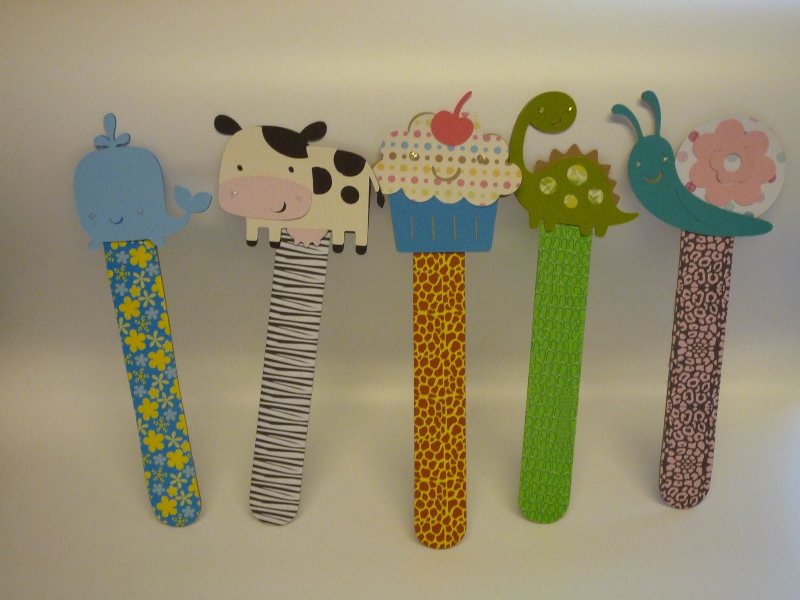 Create A Critter Bookmarks