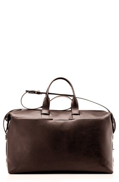 Troubadour Leather Duffel Bag