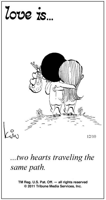 Love Is... Comics By Kim Casali | Love Is ... Comic Strip by Kim Casali (December 10, 2011)