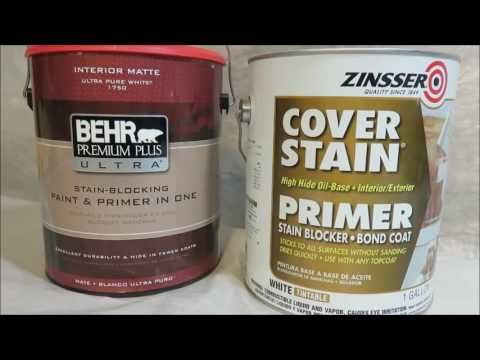 How To Paint Over Wallpaper With Zinsser Cover Up