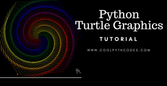 cool python codes tutorial on python turtle drawing