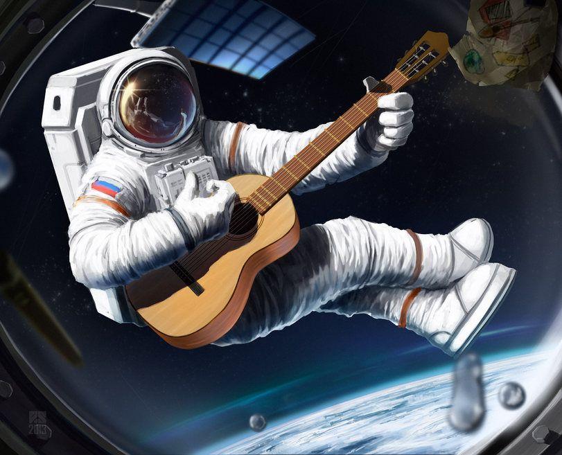 красивые рисунки про космос и космонавтов дам в долг доска объявлений