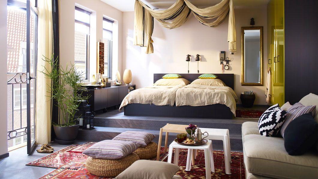 Orient style IKEA inspirations Pinterest Vorhang über dem - schlafzimmer style