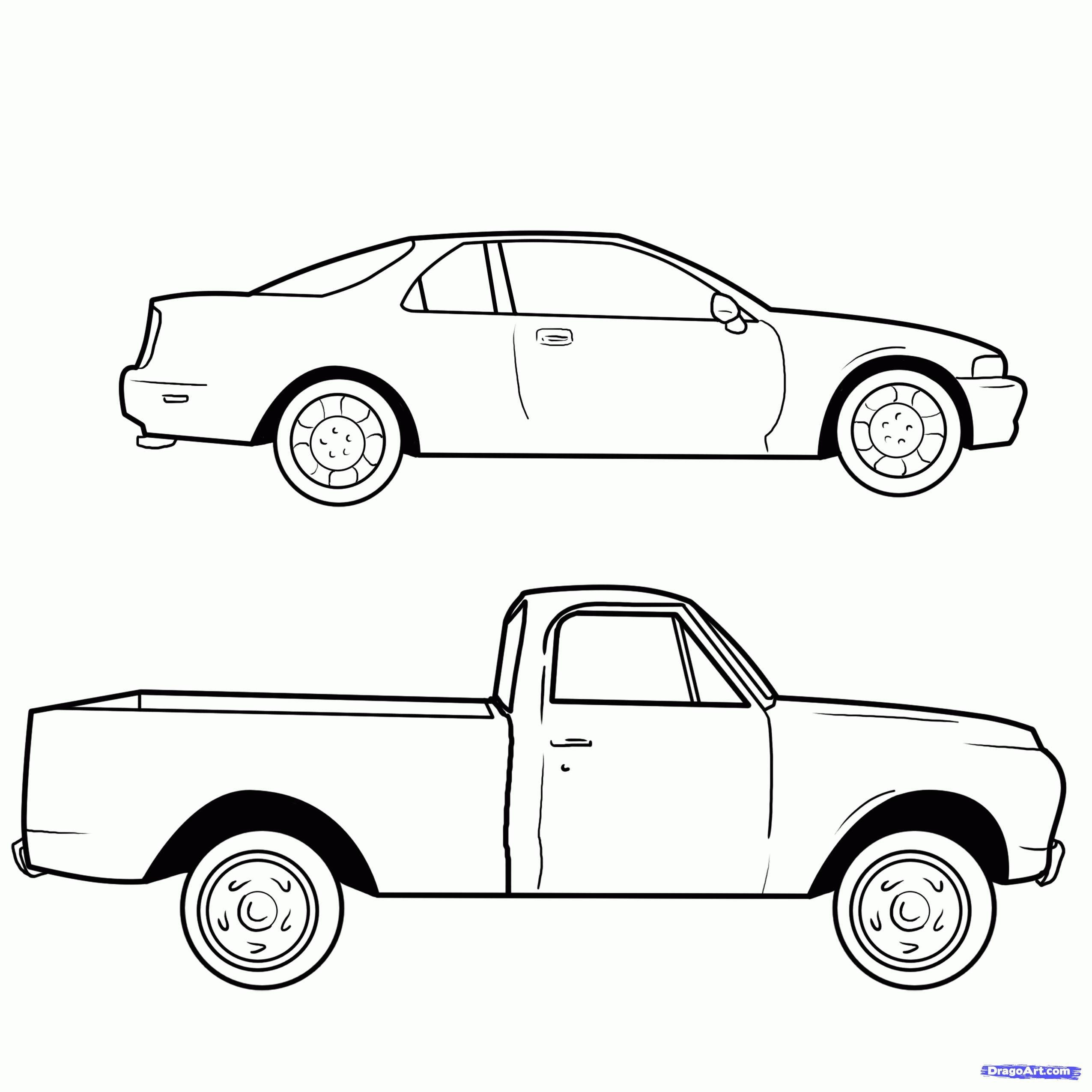 New How To Draw A Simple Car Diagram Wiringdiagram