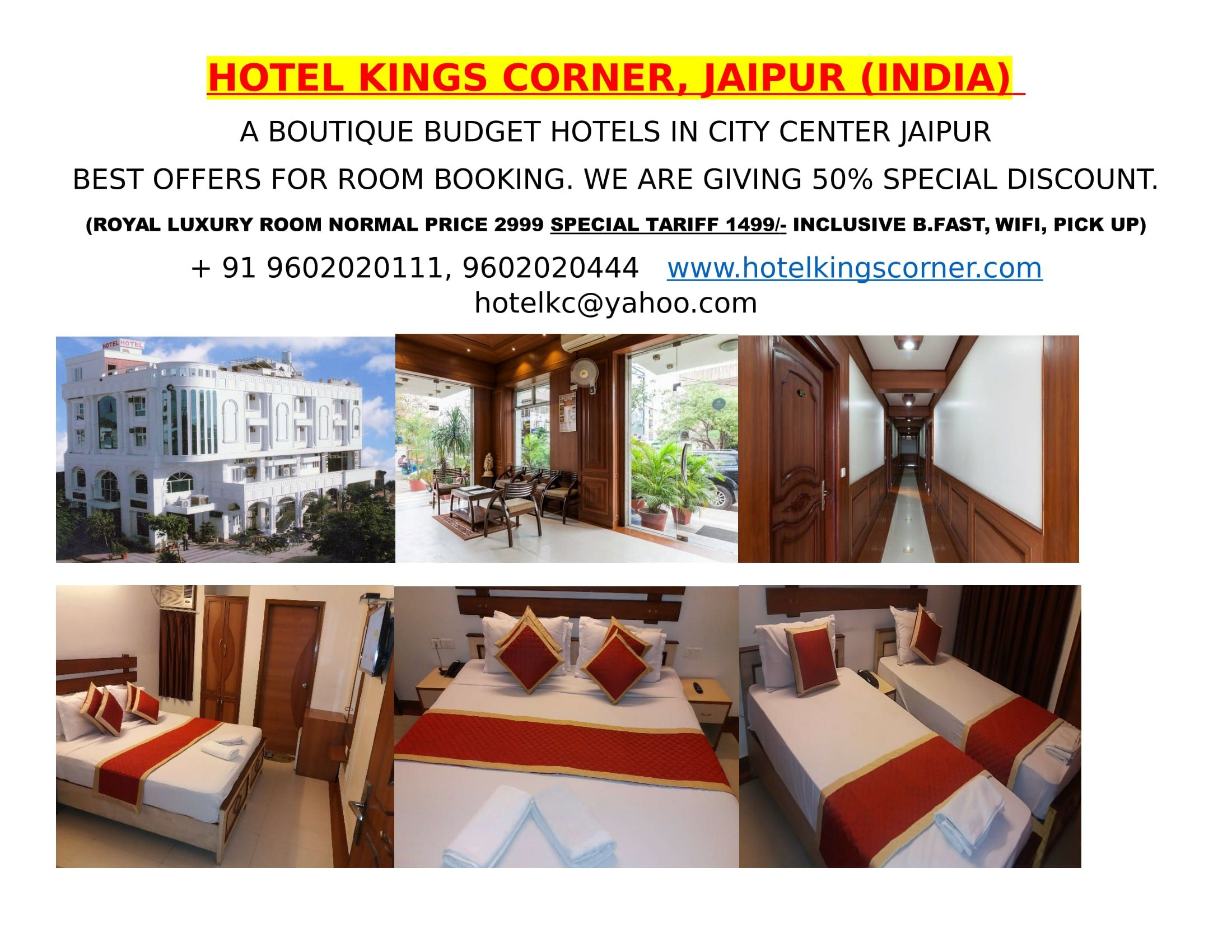 Pin By Hotel Kings On 3 Star Hotels In Jaipur Budget Hotel