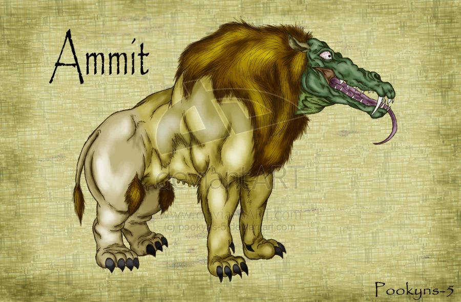 Ammit- Egyptian myth: the soul eater