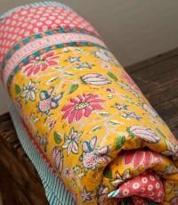 Anokhi reversible quilt