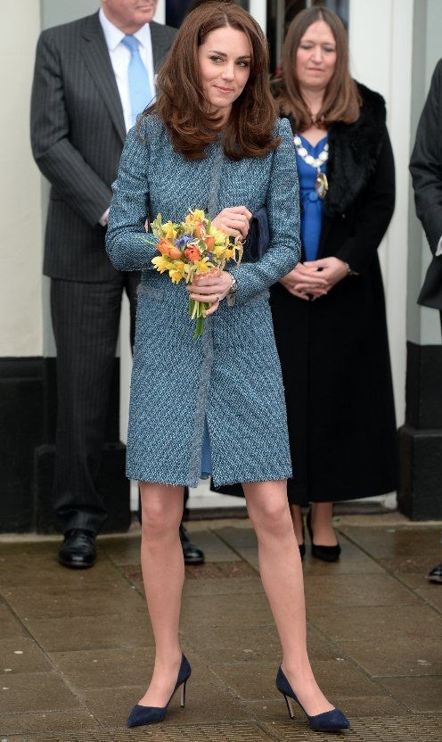 The Duchess of Cambridge opens the new East Anglian Children's Hospital shop in Norfolk