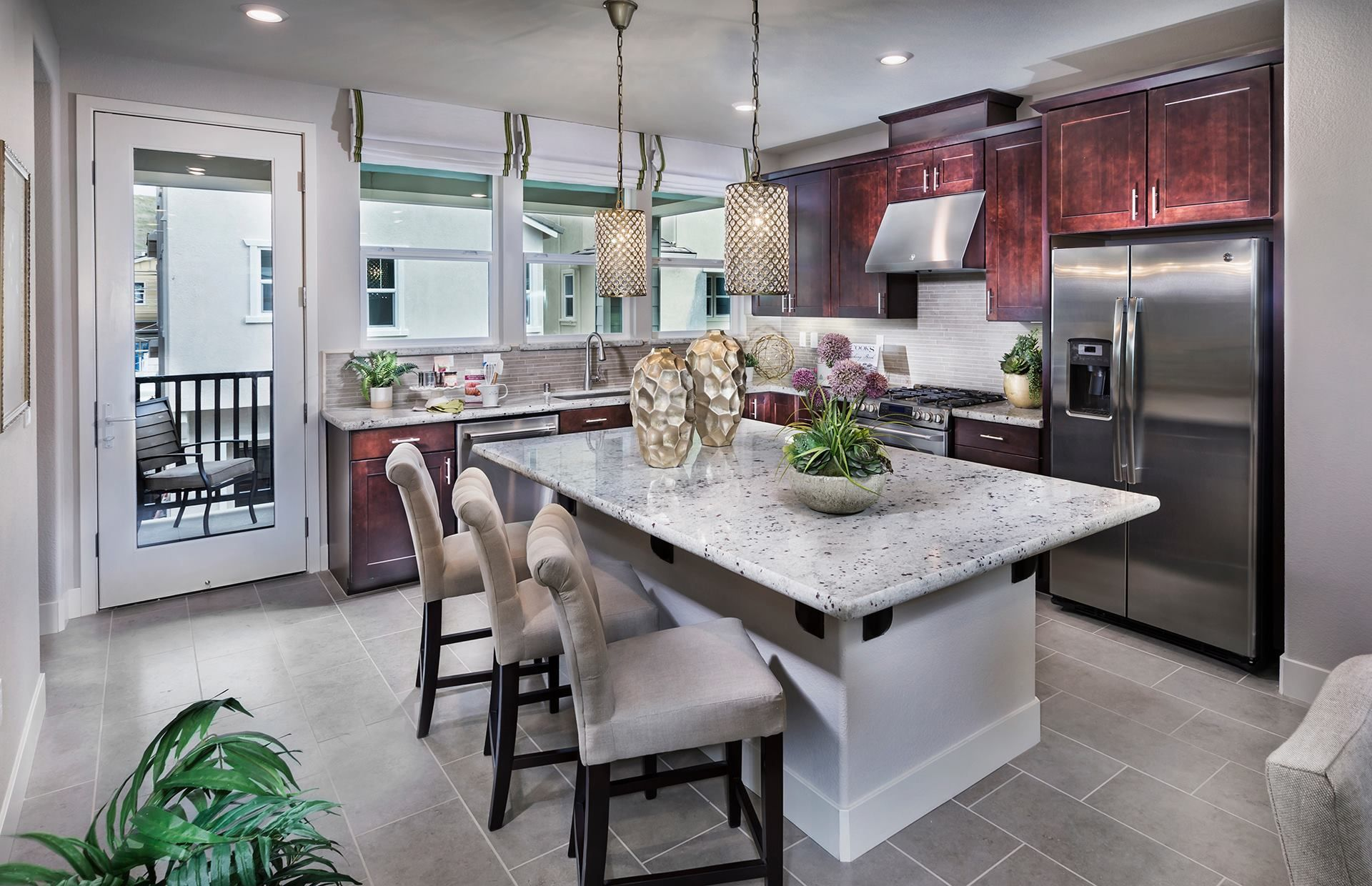 Use ONE word to describe this kitchen! New homes for