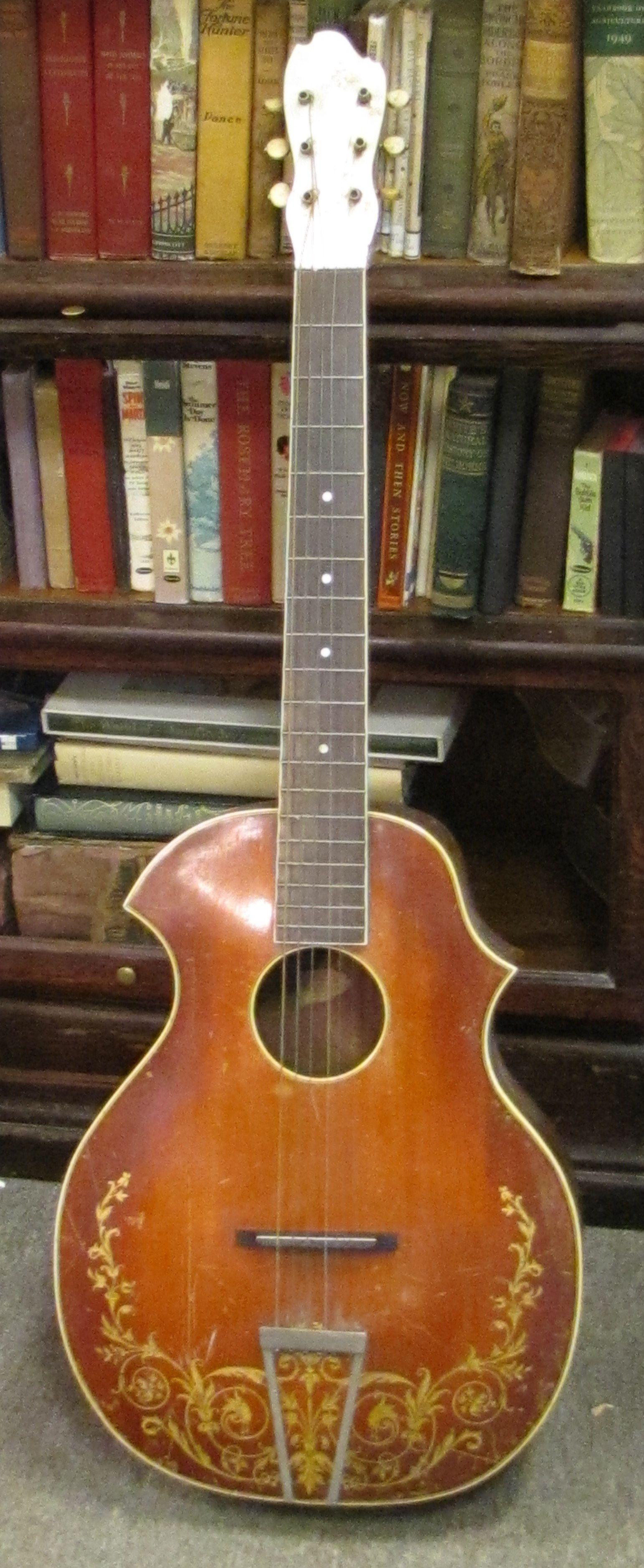 1920's Kay Recording King blues guitar with Venetian