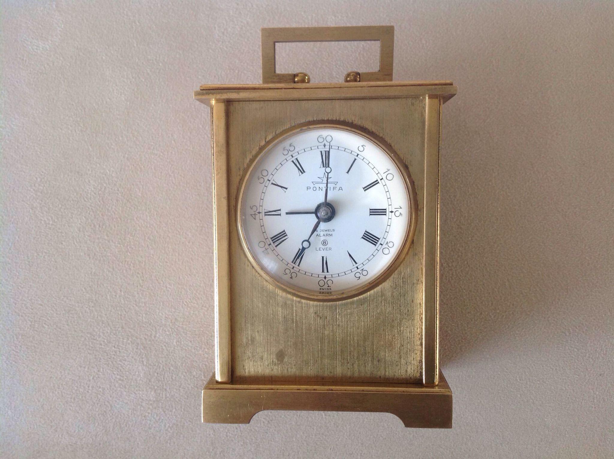 Pontifa alarm clock swiss made my clocks saatlerim pontifa alarm clock swiss made amipublicfo Gallery