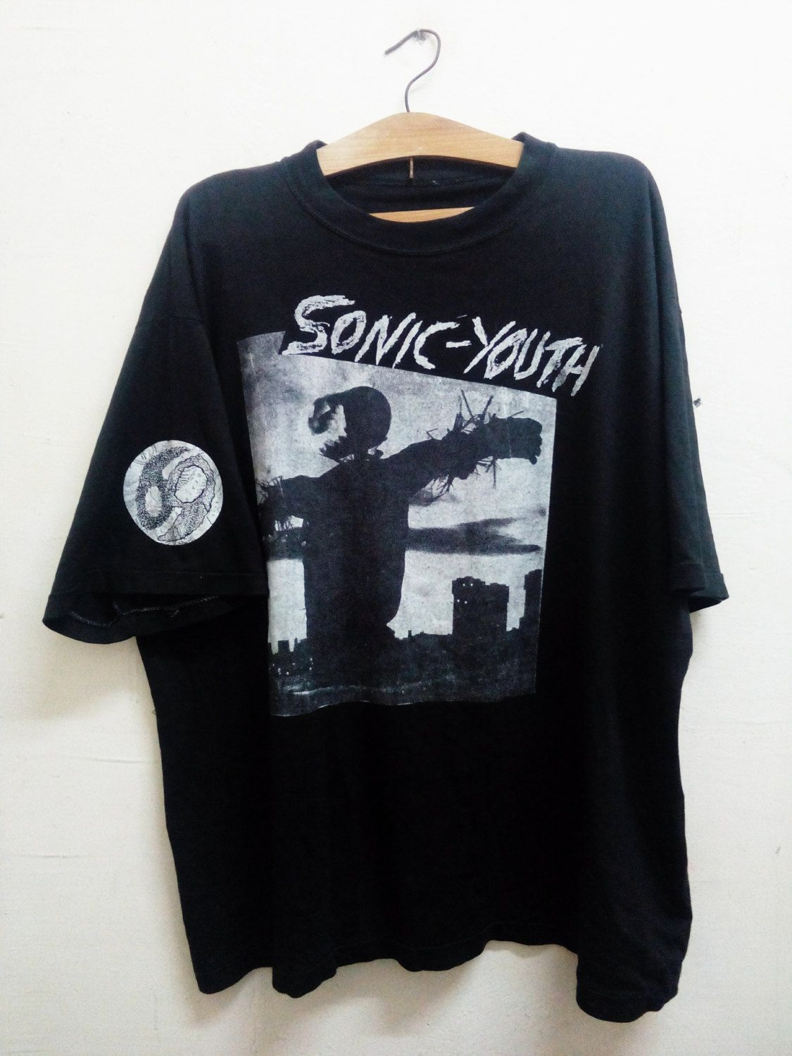 Vintage Sonic Youth Bad Moon Rising
