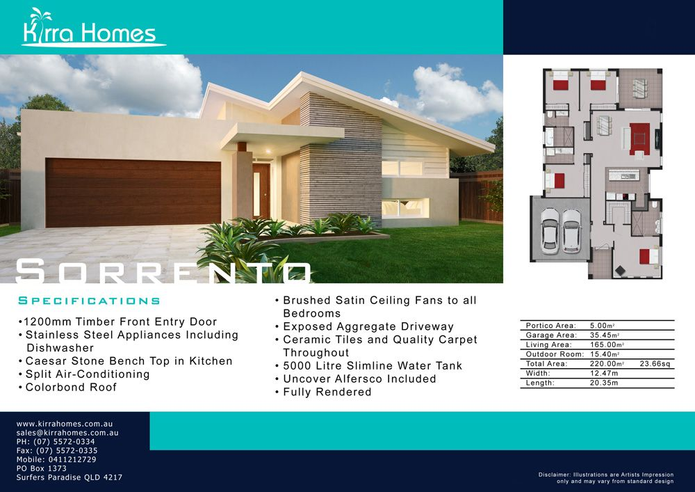 Kirra Homes Home Builder Facades Pinterest