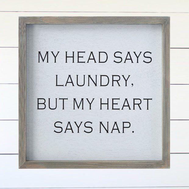 Framed Laundry Room Wall Decor – Laundry room wall decor