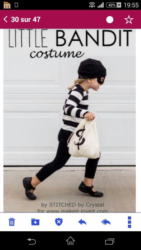Petit bandit Fasching für Vincent Pinterest Costumes