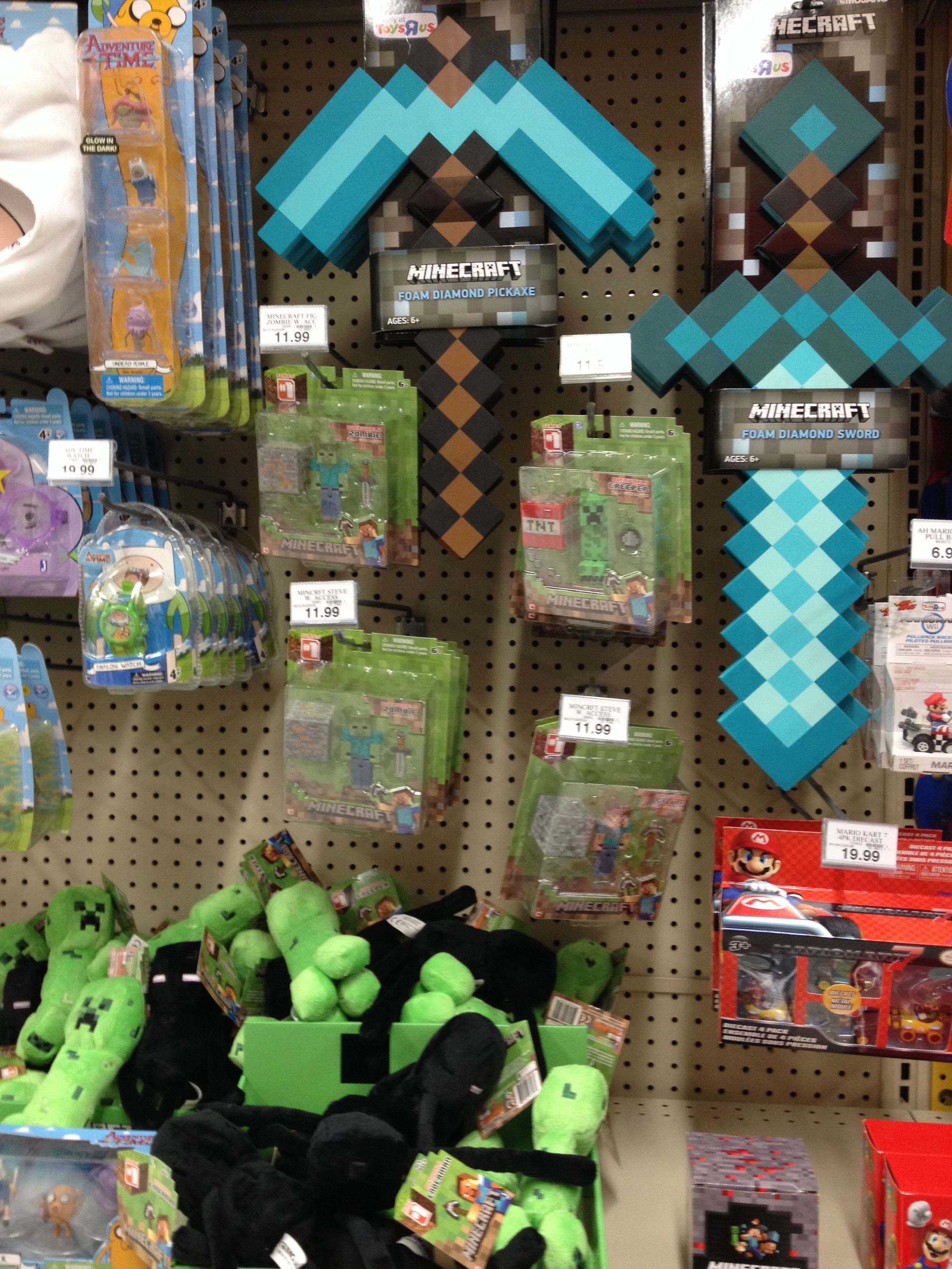 Walmart Minecraft Toys For Boys : Gift ideas for zack minecraft stuff toys r us hey