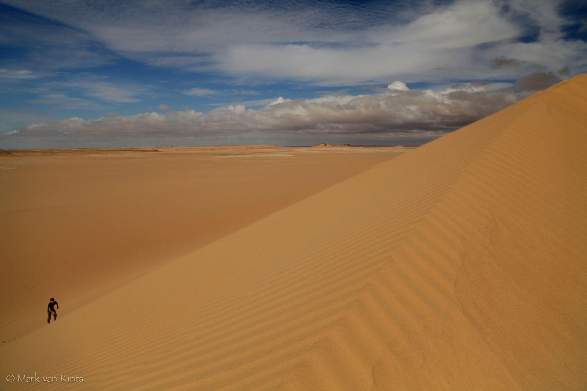 Dune crest, Egypt