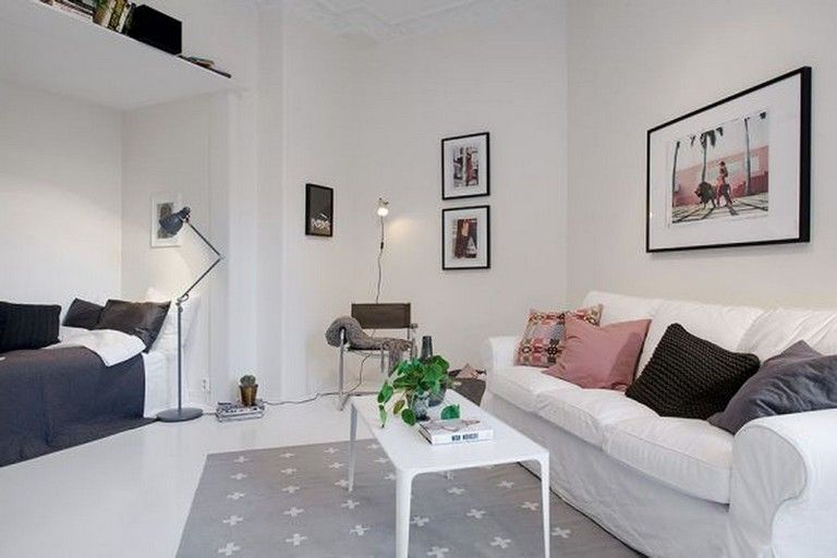 60 Bright Studio Apartment Decor Ideas On A Budget