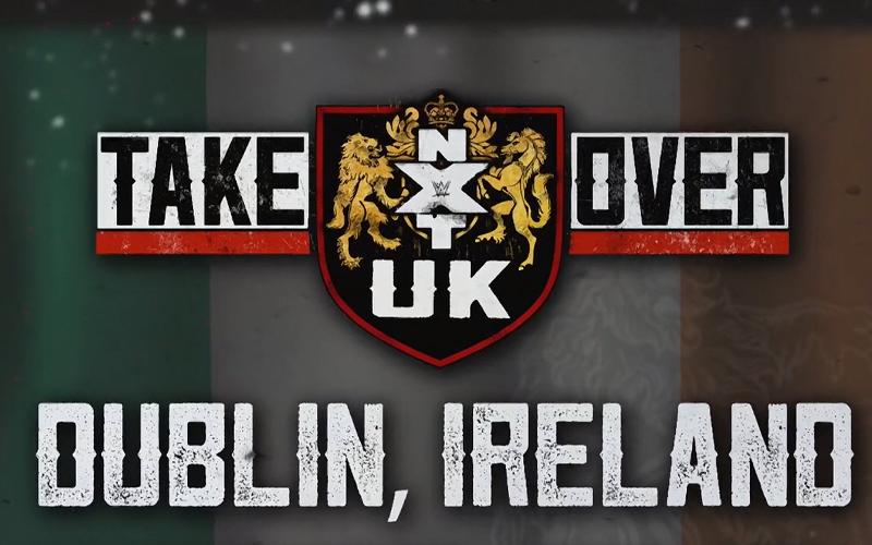 Wwe Announces Nxt Uk Takeover Dublin Wwe Wwe News Dublin