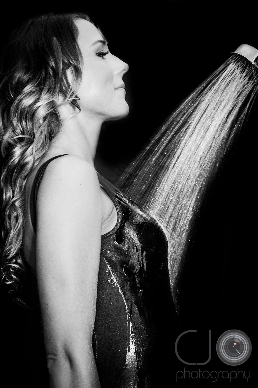 Shower Model cjo #photography #model #portrait #shower #wet | cjo photography