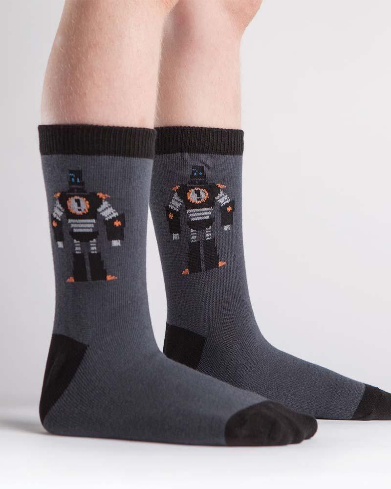 Bring It Bot Kids Crew Socks | Sock It To Me @ Bump & Bunny
