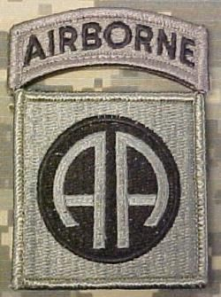 Here's to the 82nd Airborne division of the United States Army!