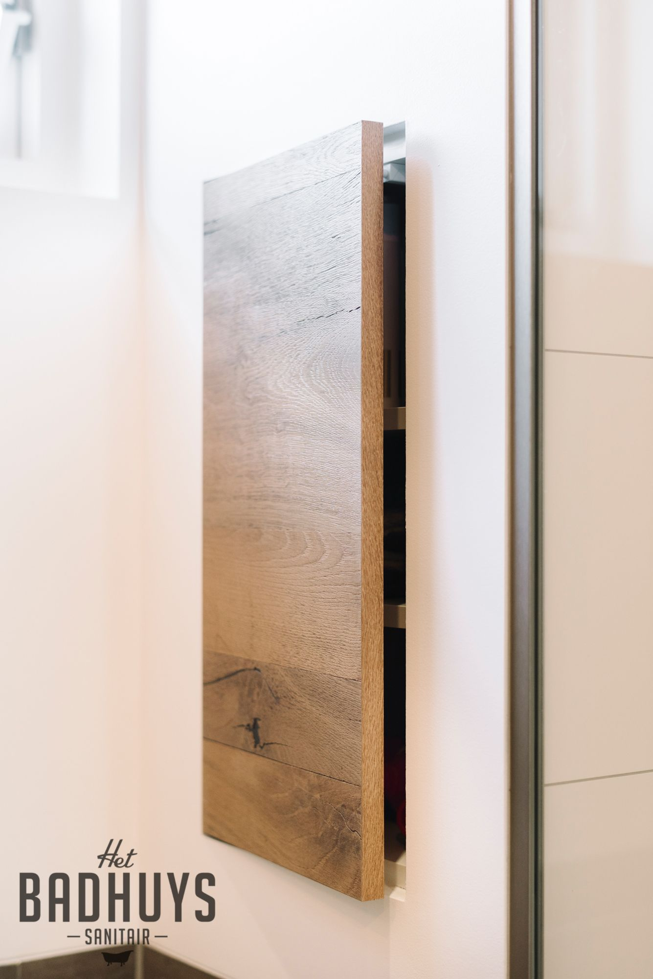 badkamer met inloopdouche en inbouwkast het badhuys badkamer