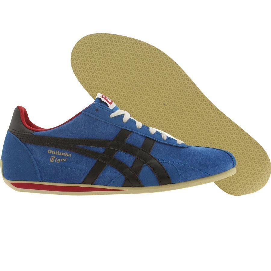 Chaussures Asics Onitsuka SU Tiger bleu Runspark OG Chaussures SU en bleu et noir | 9b57233 - vendingmatic.info