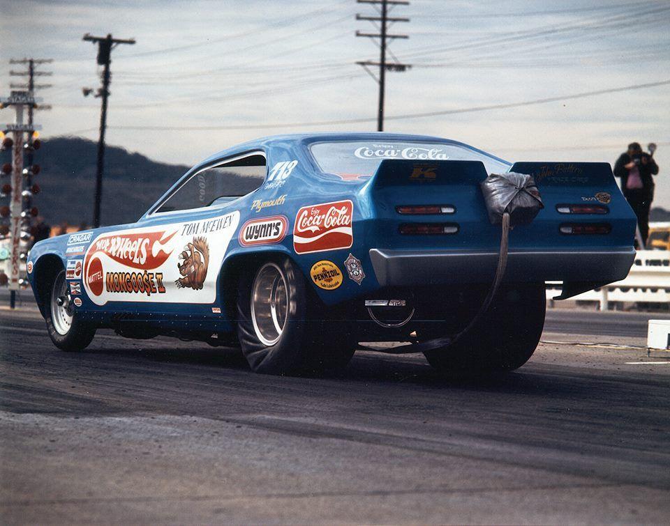 Tom McEwen Mongoose II Duster 1971 Drag racing cars, Car