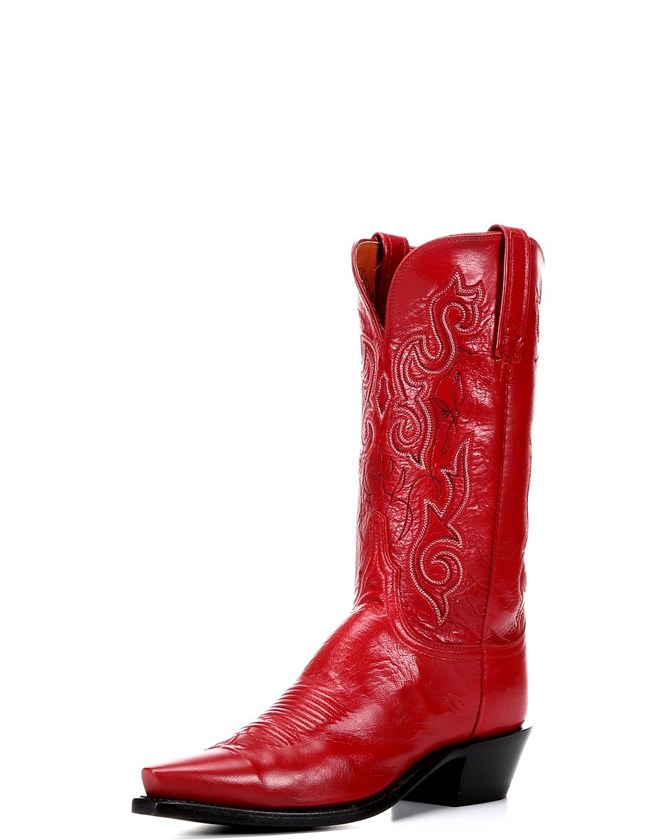 Women S Tristan Red 5 Toe Boots Boots Boot Shoes Women Red Cowgirl Boots
