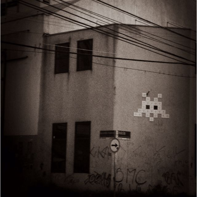 #spaceinvader @pinheiros #ilivesp