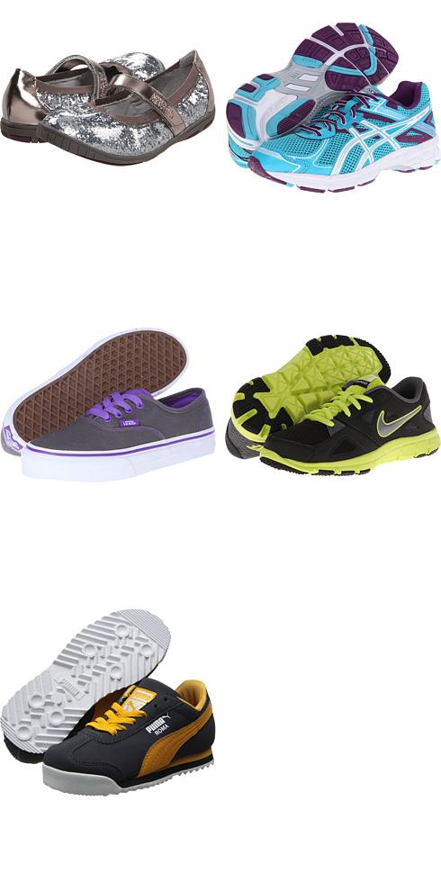 Kenneth Cole Reaction Kids, ASICS Kids, Vans Kids, Nike Kids, Puma Kids at 6pm. Free shipping, get your brand fix!