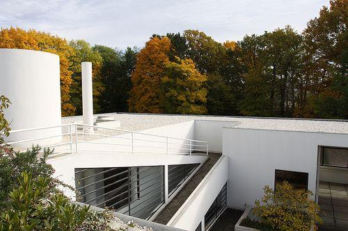 Villa Savoye Poissy France Le Corbusier Architecture Villa