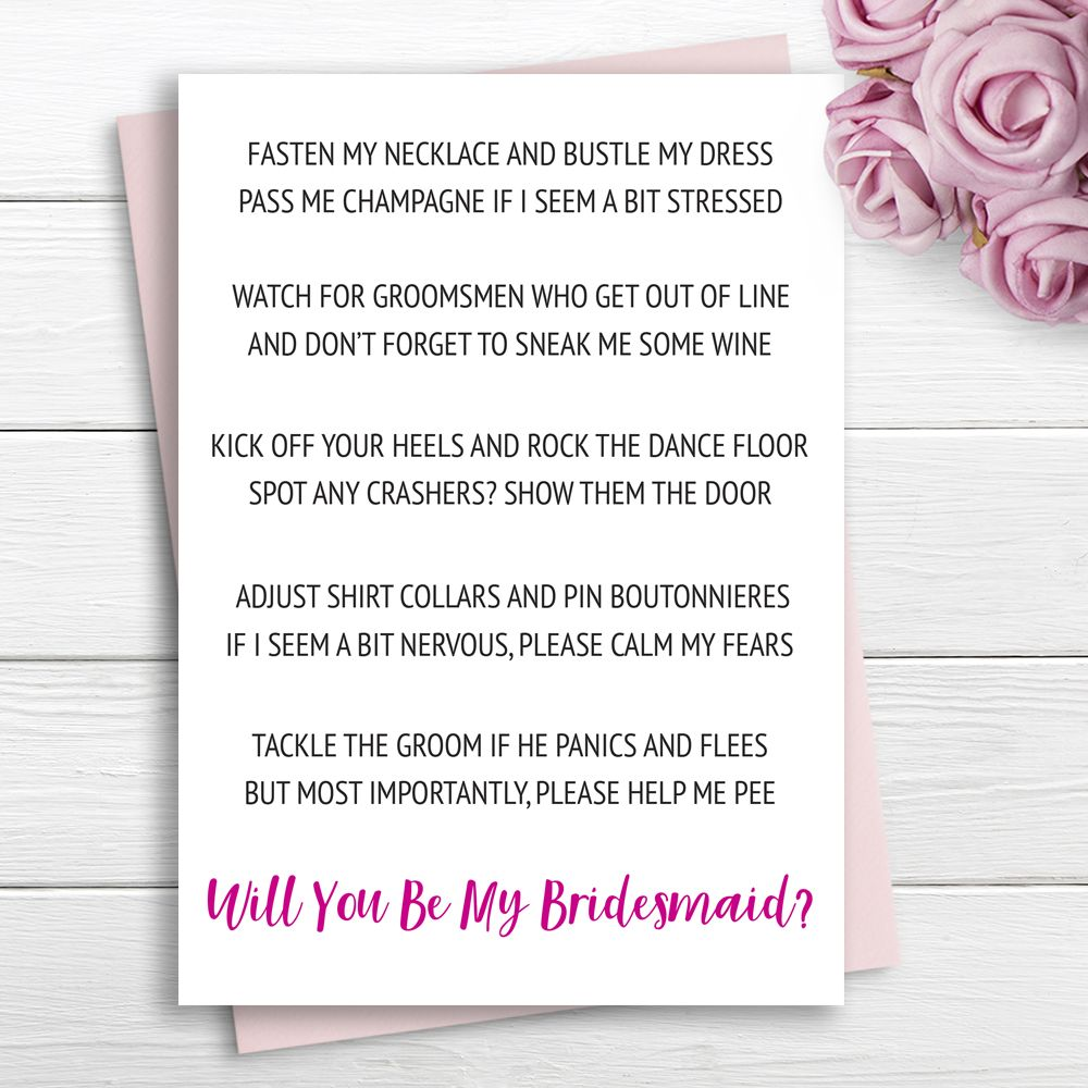 This is a photo of Free Printable Bridesmaid Proposal within rustic