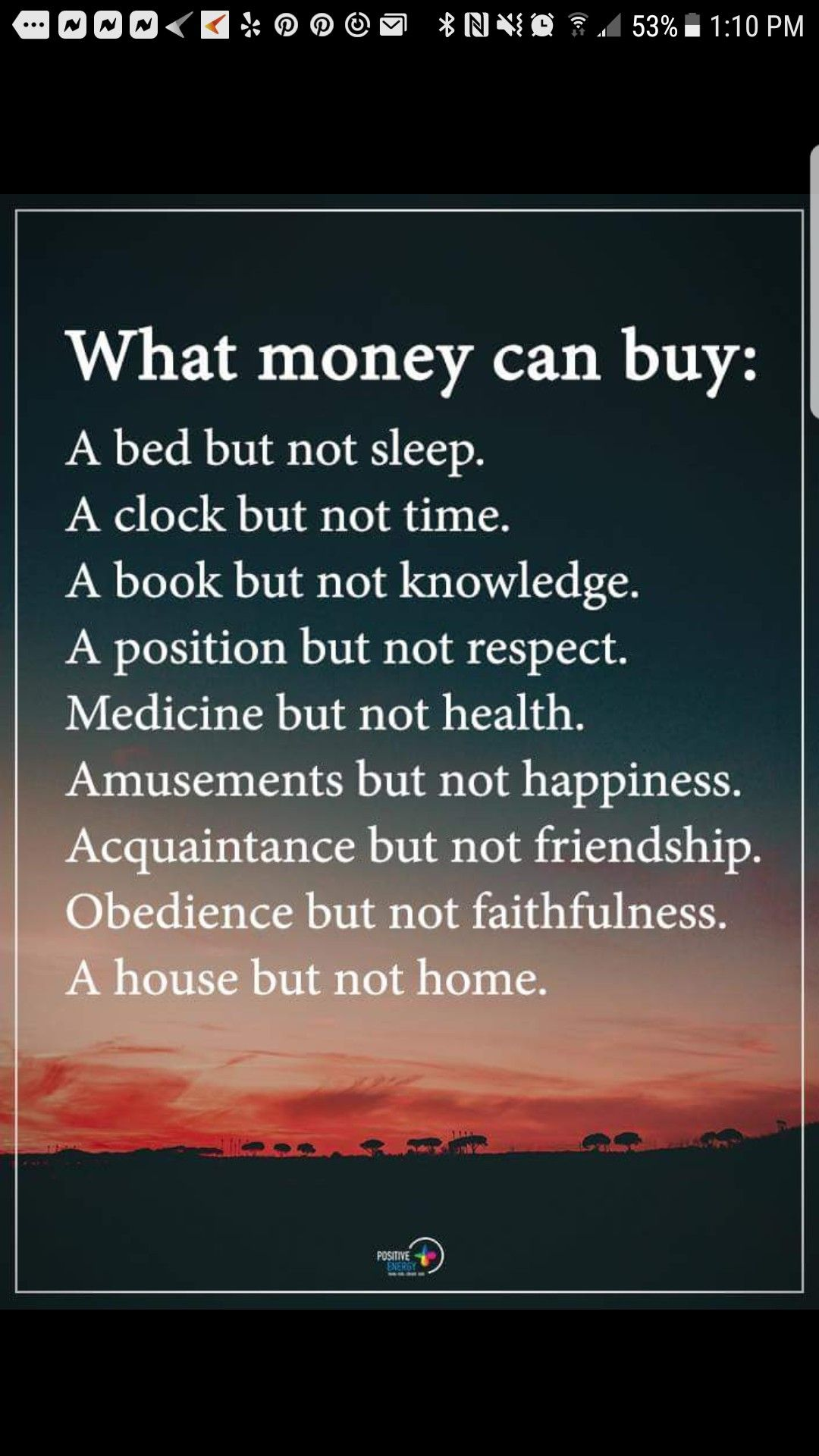 Money Sure Can T Give You Everything Clever Quotes Words Quotes Meaningful Quotes