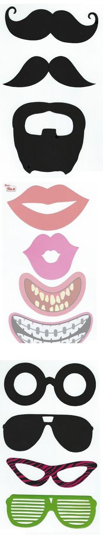 Gafas, Mostachos y Bocas para Photo Booth para Imprimir Gratis.