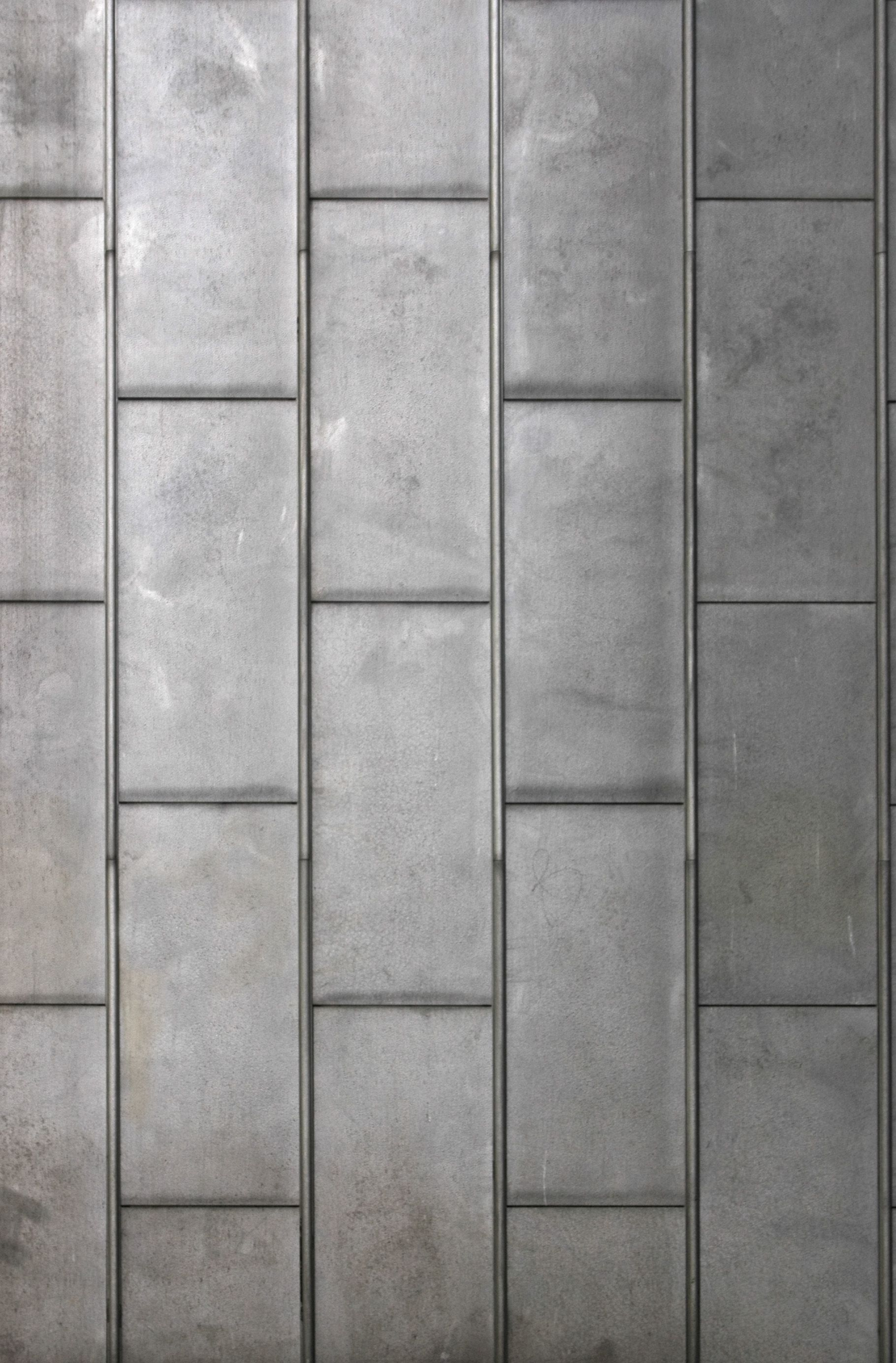 Metallic Wall Paneling : Textured zinc facade acid google search boulder