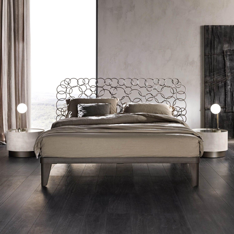 Letto matrimoniale in ferro mondrian letto ferro design for Letto matrimoniale ferro