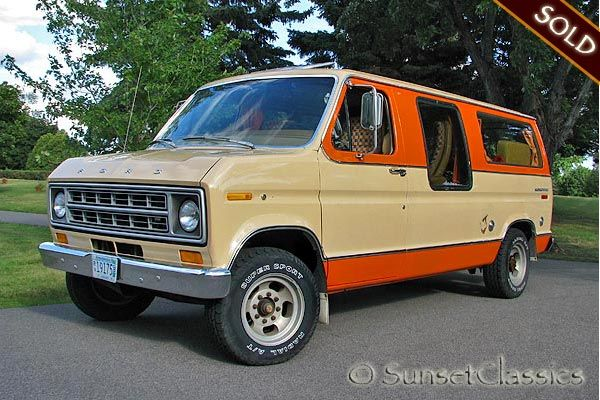1978 Ford Econoline 250 Conversion Van Ours Was Much Prettier