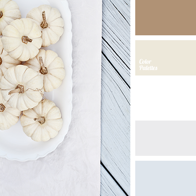 """dusty"" beige, beige, bluish color, brown, color combination in interior, cream, gentle color solution, gray, gray-blue, light gray, palette for table decor, sand brown, shades of silver, White Color Palettes, yellow beige."