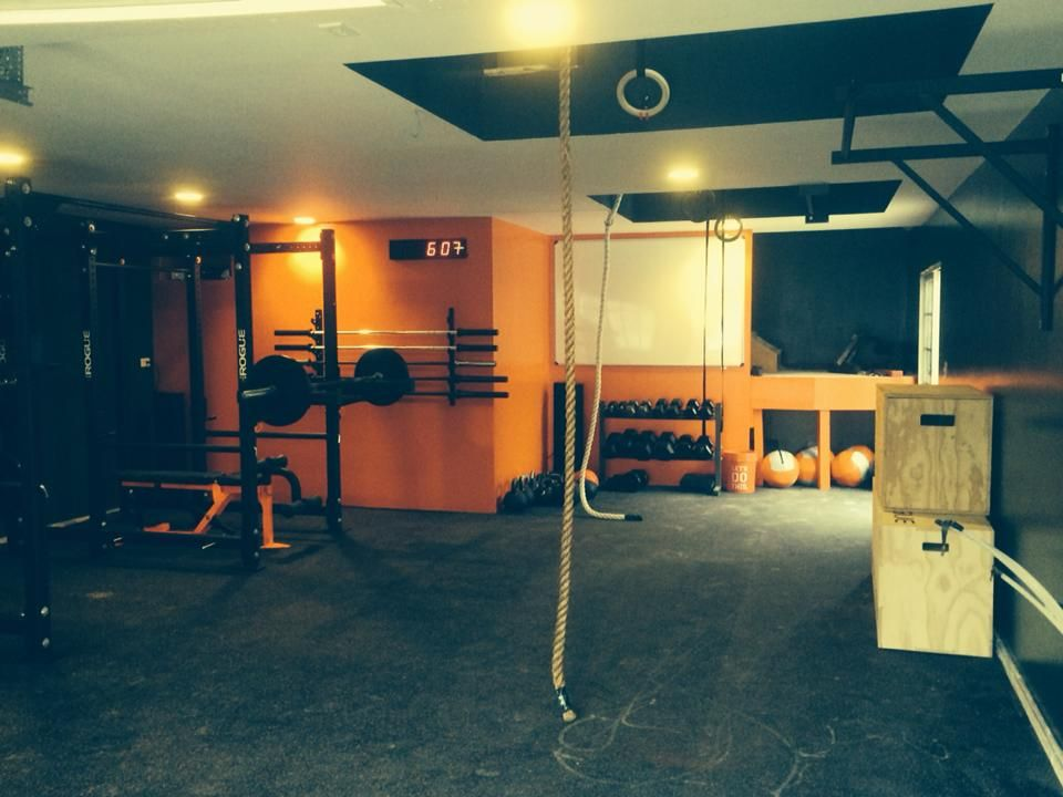 Rogue Equipped Garage Gyms Photo Gallery