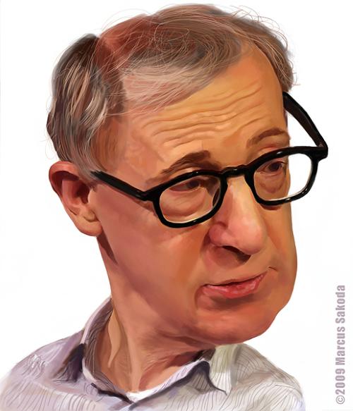 [ Woody Allen ] artist: Marcus Sakoda - website: http://www.marcussakoda.com/