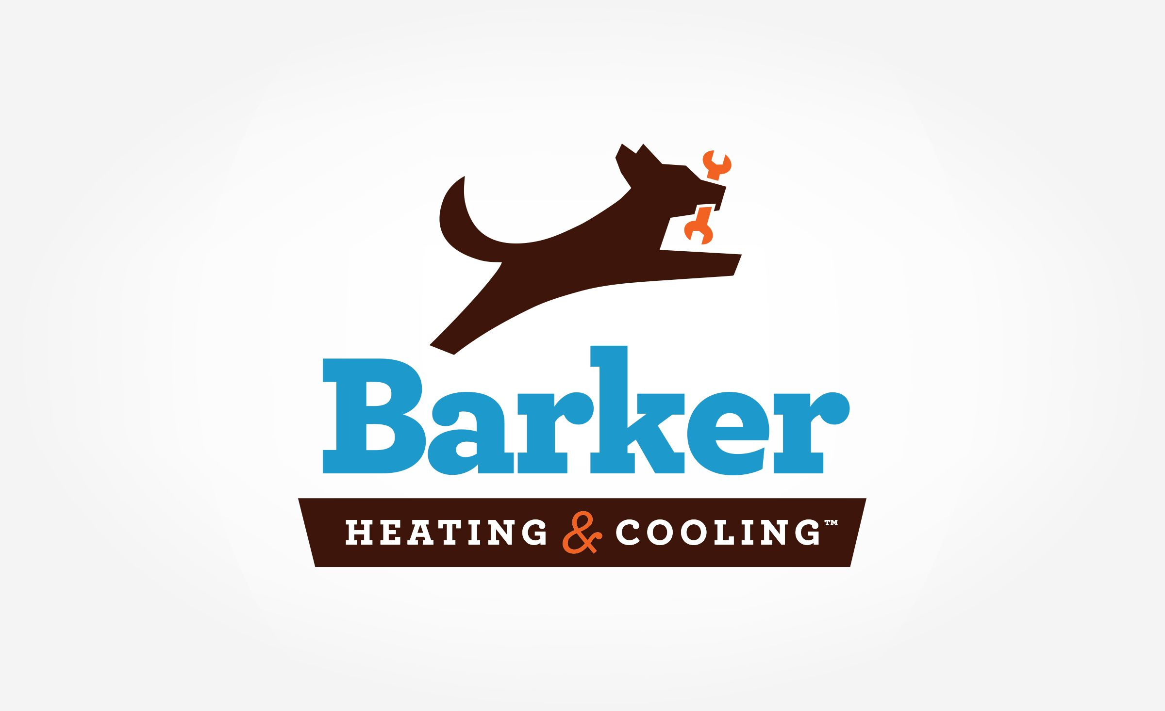 Logo Design For Barker Heating Cooling Nj Advertising Agency
