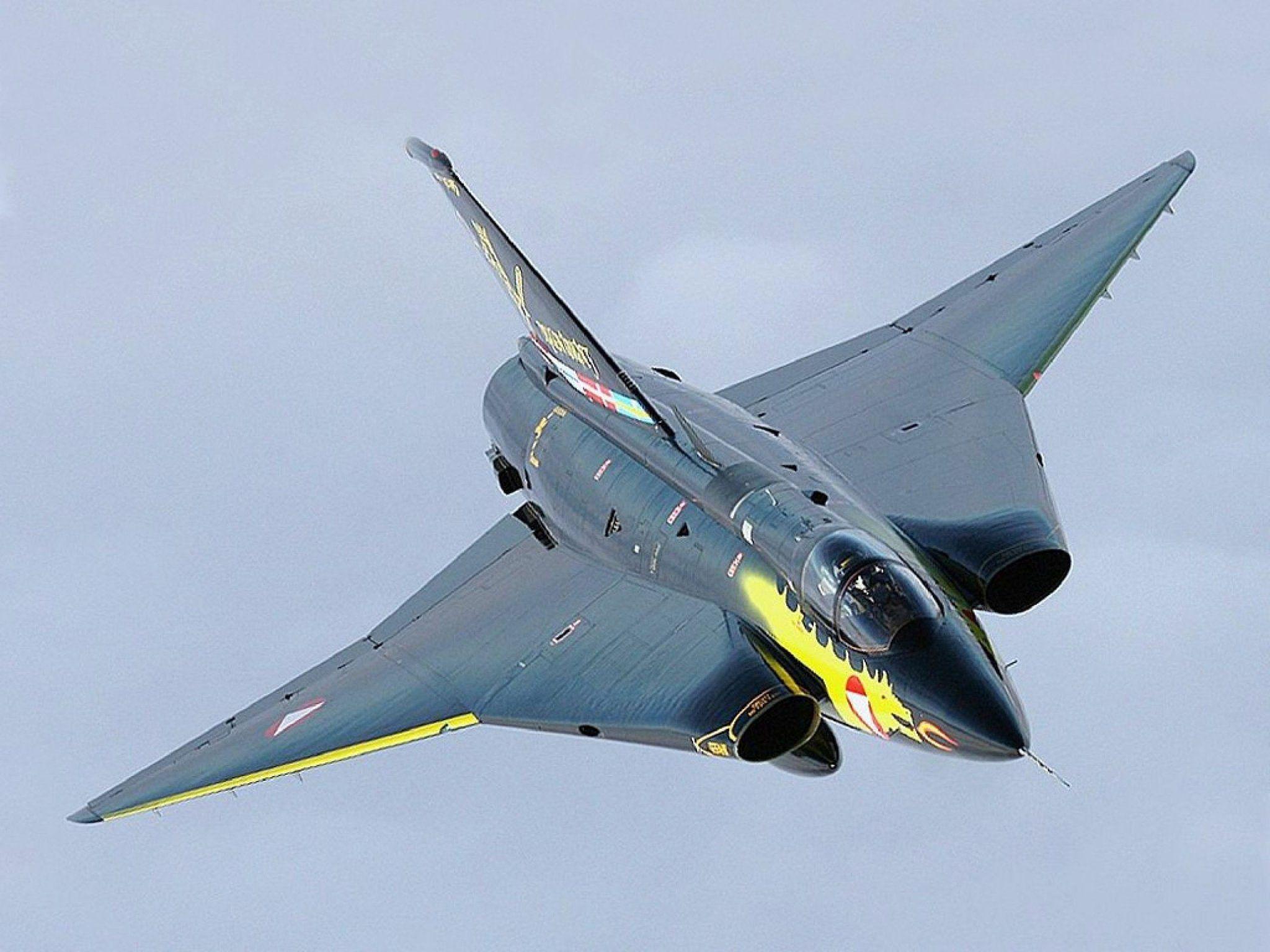 SAAB J 35 Draken Straaljagers, Militaire vliegtuigen, Drake