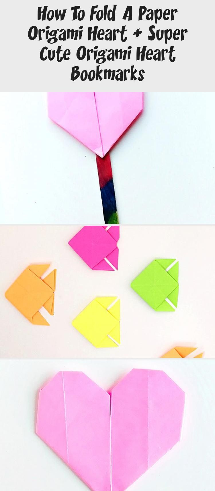 How to Make Origami Heart Love Notes - Step by Step Folding ... | 1710x750