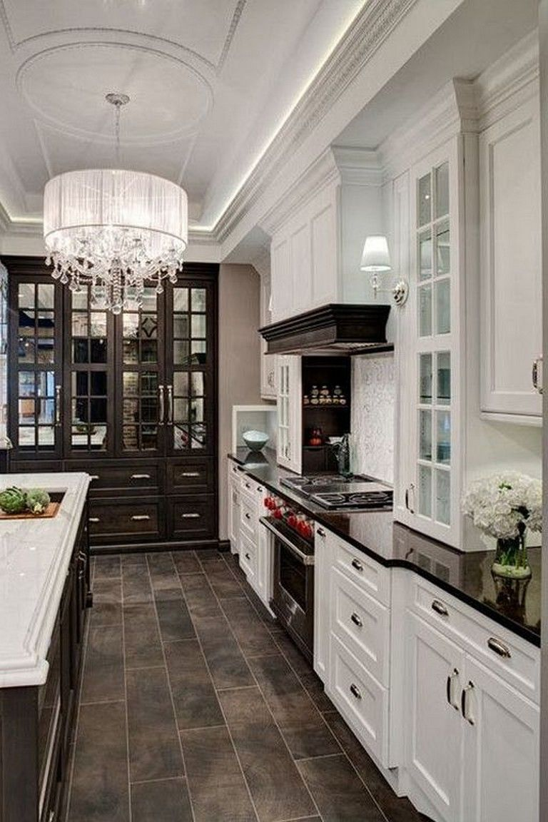 41 elegant classic kitchen design ideas to inspire you classic kitchen design dark on kitchen remodel dark countertops id=62689