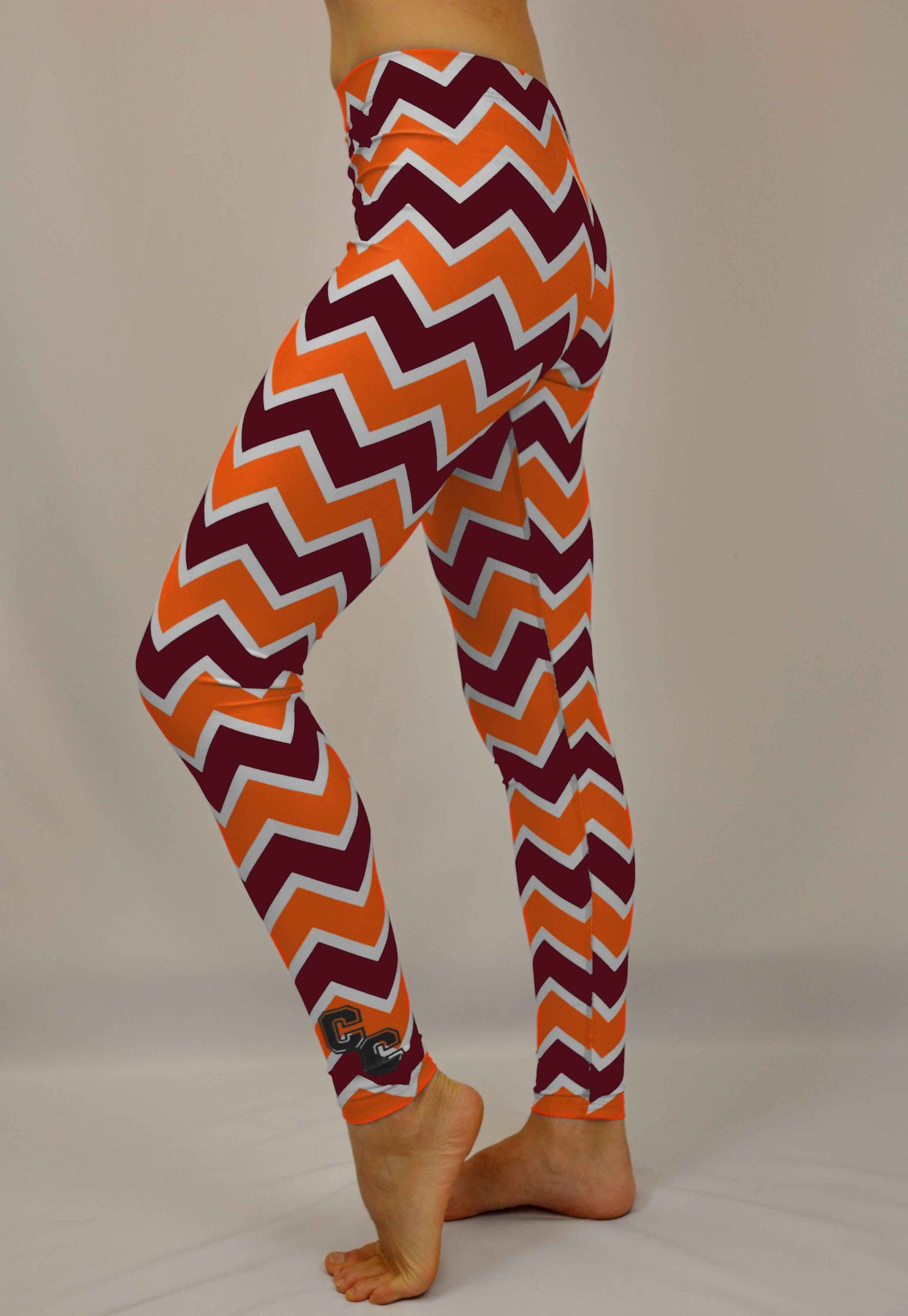 Virginia Tech Chevron Leggings
