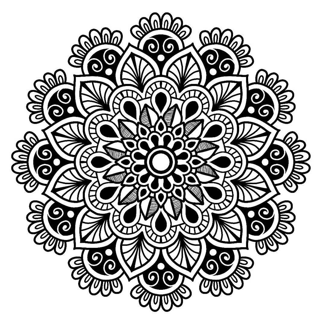 Pin de Florencia Rodríguez en Mandalas | Pinterest | Mandalas ...